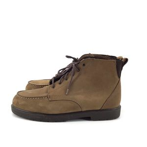 RED WING SHOES Moc Toe Suede Boots